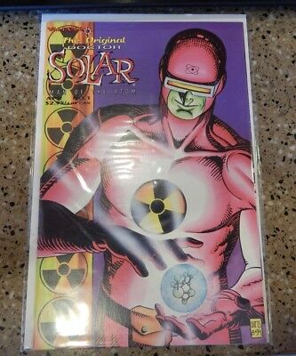 Valiant comics The Original Doctor Solar Man of the Atom Issue 1 in sleeve