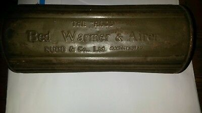 Rudd And Co Ltd Bed Warmer And Airer
