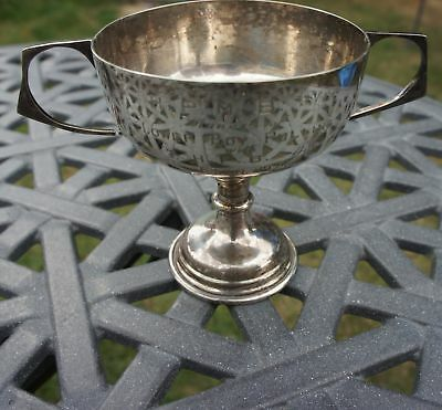 Antique Silver Plate 1925 Eton School Boys Rowing Cup