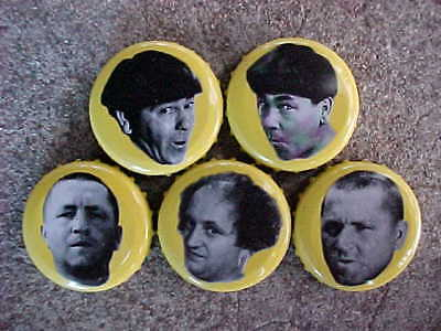 Three Stooges Bottle Caps Panther Brewing Co.
