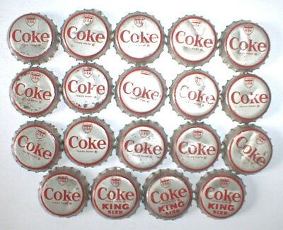 19-LOT of  U.S.A.  LANDMARKS COCA COLA SODA BOTTLE CAPS > Used Cork Lining