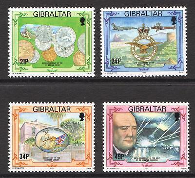 Gibraltar 1993 Anniversaries - MNH Set - Cat £8.35 - (48)