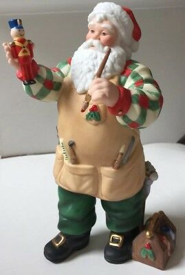 The Lenox 2001 Santa Figure Christmas Fine Porcelain EUC