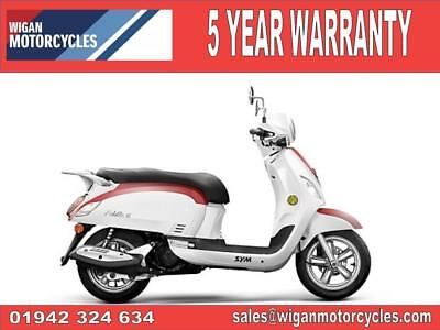 2018 Sym Fiddle Iii 125Cc..41.38 Over 60M With A 99 Pounds Dep.8.9%apr