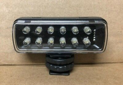 Used Manfrotto ML120 Pocket-12 LED Light
