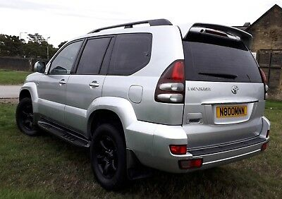 2003 TOYOTA LANDCRUISER LC3 (4x4) 3.0 TURBO DIESEL MANUAL OUTSTANDING HPi CLEAR
