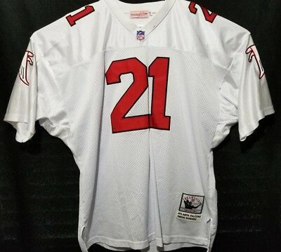 official photos a74a1 e15f8 MITCHELL & NESS Throwback Atlanta Falcons Deion Sanders ...