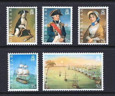 Gibraltar 1998 Bicentenary of Battle of the Nile - MNH Set - Cat £6.25 - (75)