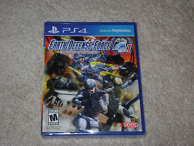 Earth Defense Force 4.1 The Shadow Of New Despair...ps4...**sealed**new**!!!!!