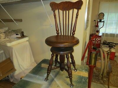 Vintage Piano Stool Chair