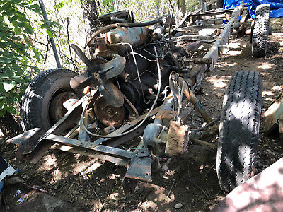 FIRE SALE! - 1954 International Harvester IH Metro Chassis ONLY