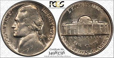 1946 Jefferson ~ PCGS MS64 ~ TrueView! Nearly FS