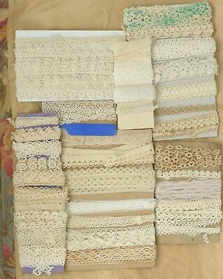 Lot Of Vintage Lace Trims