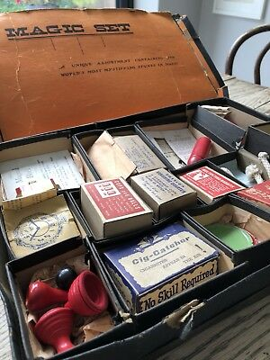 Antique Magic Set, 1936.