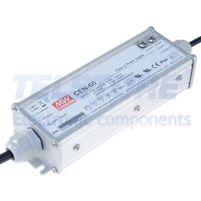 1pcs CEN-60-12 Alimentatore switching per diodi LED 60W 12VDC 10,8÷13,5VDC MEAN