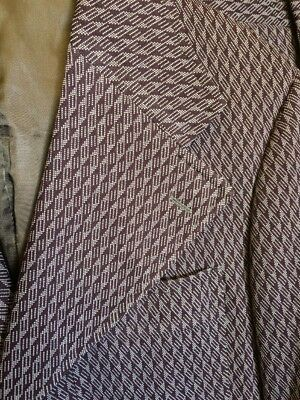 VtG 70's House of Lords Wide Disco Lapel Double Knit Polyester Leisure Suit 42