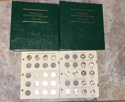 1999-2008 (2009) Fifty State Commemorative Quarters Collection Set 90% Silver