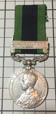India General Service Medal Afghanistan North West Frontier Bar 1919 Full Size