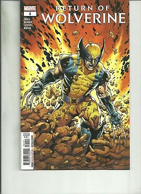 Return Of Wolverine #1 Nm 1St Print 2018 Marvel Comics