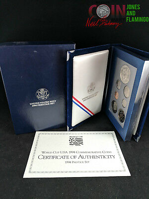 1994 U.s. Prestige Set World Cup Commemorative Set #5973