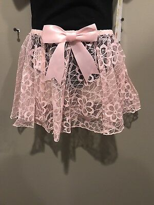 BY GILDA MARX CUTE 4-5--6-7 NEW WITH TAGS CHILDS PINK SKIRT SIZE 1