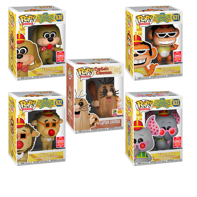FUNKO POP! Hanna-Barbera Banana Splits + Captain Caveman Bundle SDCC Exclusives