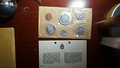 1964 Silver Canada Uncirculated Prooflike Mint Set #1
