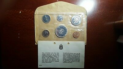 1964 Silver Canada Uncirculated Prooflike Mint Set #4