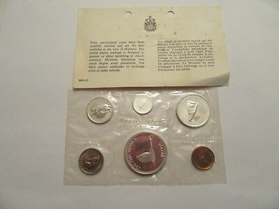 1967 Royal Canadian Mint Proof-Like 6 coin set, 80% silver