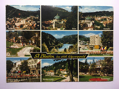 St Blasien, Black Forest, Germany - Old Postcard - Posted