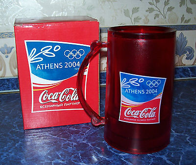 Vintage 2004 ORIGINAL Freezing Olympic mug from COCA-COLA in original box NEW