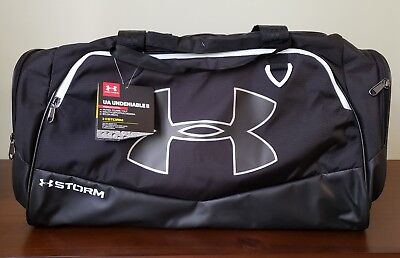 cbe9d913222d UNDER ARMOUR STORM Undeniable II Medium Duffle Bag - Black - New!