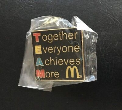 McDonalds Pins Label for Crew TEAM Restaurants