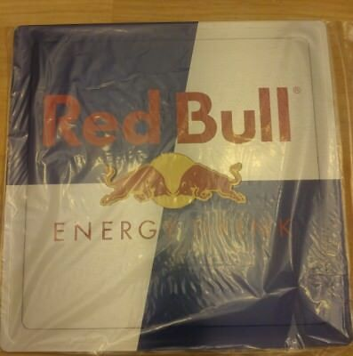 """New Red Bull Energy Drink Double Sided Metal Advertising Sign 10"""" x 10"""""""