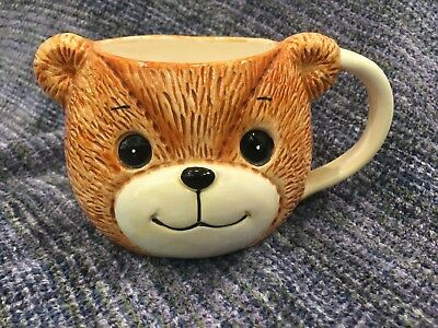 Lucy And Me Bear Head Cup Mug Lucy Rigg 1982
