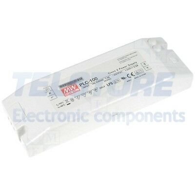 1pcs PLC-100-12 Alimentatore switching per diodi LED 60W 12VDC 5A 90÷264VAC MEAN