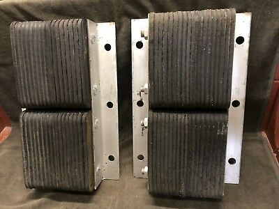 """2 each LOADING DOCK BUMPERS 20"""" x 13"""" x 4 1/2"""" thick  NEW!"""
