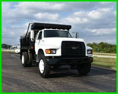 1999 Ford F-800 PTO Dump Truck Fully Functional and LOW RESERVE!