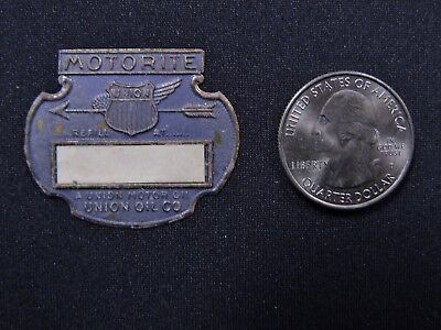 UNION OIL CO Motorite SERVICE REMINDER CHANGE TAG