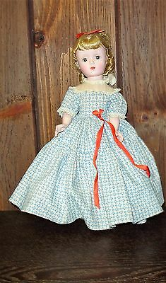 Vintage Madame Alexander doll Amy from Little Women Collection 1948-1954 stand