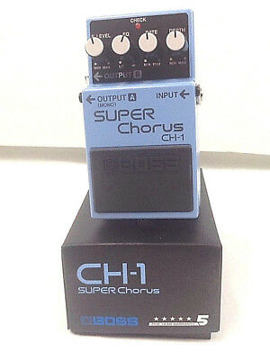 BOSS CH-1 Super Chorus Pedal FREE PRIORITY SHIPPING!
