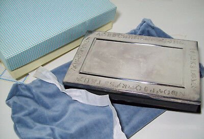 Pottery Barn Kids Keepsake Silver Color Finish Photo Frame Album New