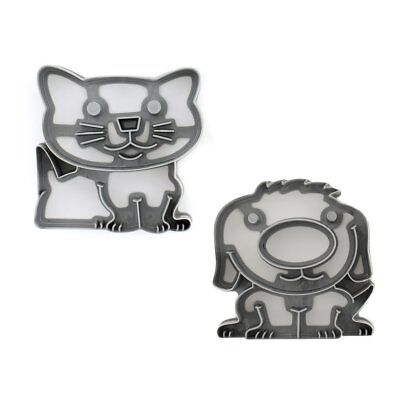 The Lunch Punch Fun Lunch Kit Sandwich Cutter  - PAWS