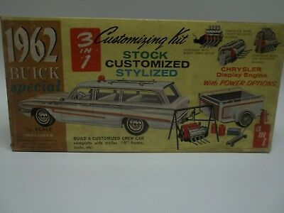 Vintage AMT 1962 Buick Special Wagon NO  K5042 -200 (BOX ONLY)