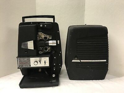 Vintage Sears Automatic 8mm Film Movie Projector - Model 584.92700 - Tested