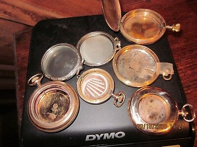 SCRAP GOLD! 6 ounces (171 grams) of scrap gold/old pocket watch cases