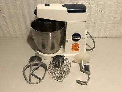 Blakeslee Commercial Mixer A717 Processor 7 Quart Bowl and 3 ATTACHMENTS