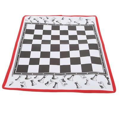 Non-woven Fabric Tournament Chess Set Camping Travel Amusement Gift FW