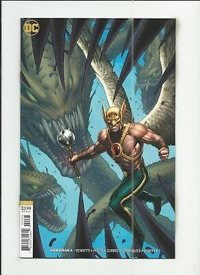 Hawkman #4 (2018) Dale Keown Variant Cover near mint- (NM-) condition