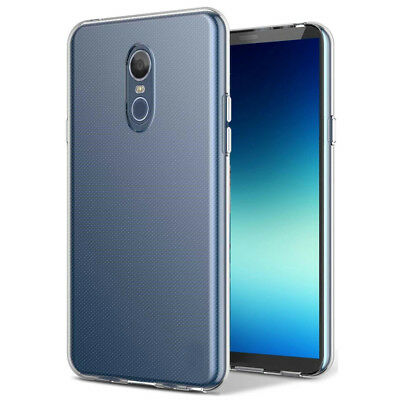 For LG Stylo 4 Shockproof Slim Clear Silicone Gel TPU Flexible Back Case Cover